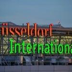 Düsseldorf Airport.